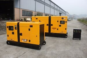 50 Kw Diesel Power Generator Perkins Engine Epa For Usa And Canada