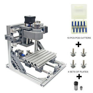 Diy Cnc Router Kits Carving Milling Engraving Machine 160x100mm With Er11 New