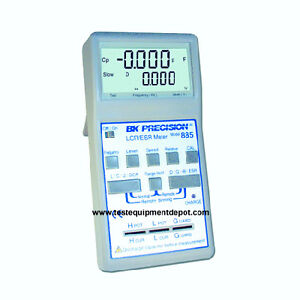 Bk Precision 885 Synthesized In circuit Lcr esr Meter