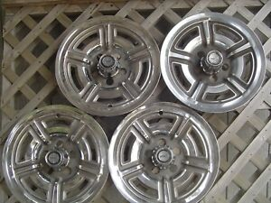 1966 1967 1968 1969 Ford Galaxie Mustang 15 In Mag Hubcaps Wheel Covers