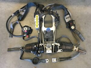 Scott 2 2 Ap50 Scba Quickconnect disconnet Reg Hud Integrated Pass Rit uac 131
