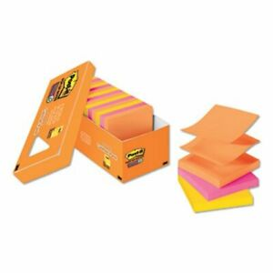 Post it Pop up Notes 3 X 3 Refill Rio De Janeiro 18 Pads mmmr33018ssaucp