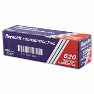 Heavy duty Aluminum Foil Rolls 12in X 500 Ft rey 620