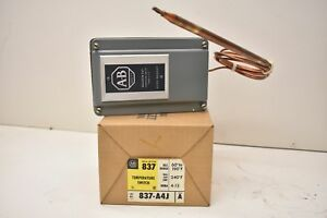 Allen bradley Bulletin 837 Temperature Switch 837 a4j