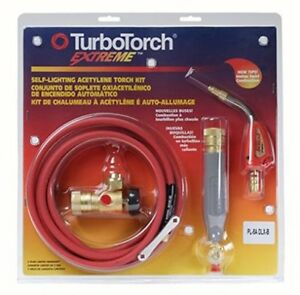 Blow Torch Self Lighting Turbotorch Torch Kit Swirl For B Tank Air Acetylene