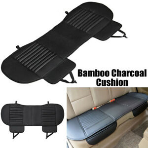 3d Universal Car Seat Cover Cushion Bamboo Bucket Seat Protector Mat Back front