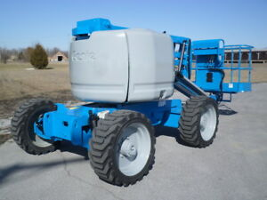2008 Genie Z45 25 Articulating Boom Lift Manlift Z boom Aerial Knuckle Boomlift