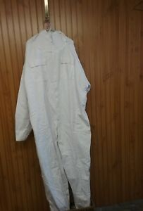 Mann Lake Cotton polyester Honey Maker Bee Suit With Veil White 2xl