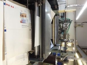 Gbc Voyager Laminator used Good Working Condition Max Sheet Size Is 28x40