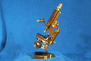 Reichert Brass Microscope 11917 Best Provenance Antique