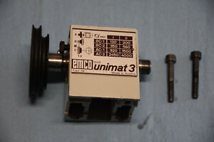 Vintage Emco Unimat 3 Head Stock Mini Jewelers Watchmakers Lathe Made In Austria
