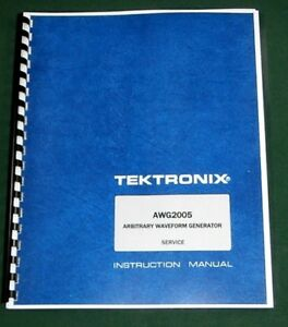 Tektronix Awg2005 Service Manual W 11 x17 Foldouts Protective Covers