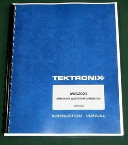 Tektronix Awg2021 Service Manual 11 x17 Foldouts Protective Covers