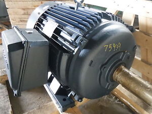 100 Hp Leeson Electric Motor 1800 Rpm 404t 405t Frame Tefc 575 V New
