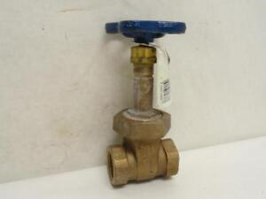 176401 Old stock Nibco Nl1m00a Bronze Wedge Gate Valve T 134 1fnpt 150swp
