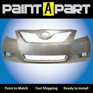 For 2007 2008 2009 Toyota Camry Usa Front Bumper Painted 1d4 Titanium Metallic