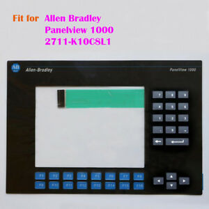 New For Allen Bradley Ab Panelview 1000 Membrane Keypad Key Mask 2711 k10c8l1