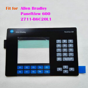 New For Allen Bradley Ab Panelview 600 Membrane Keypad Key Mask 2711 b6c20l1