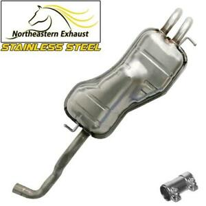 Stainless Steel Exhaust Muffler Fits Vw 1998 2010 Beetle 1999 2006 Golf
