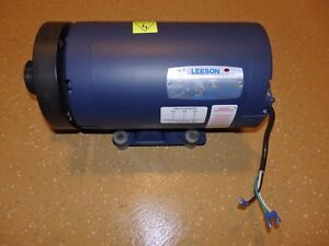 Leeson 2 Hp 230 Volt 3 Phase Motor 1740 Rpm Frame 145t Quinton Treadmills