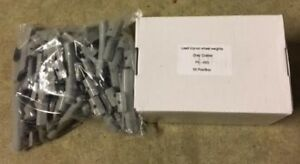 100 Pieces Fn 45 Gram Lead Coated Wheel Weight Clip On Balancing Hammer On 45g