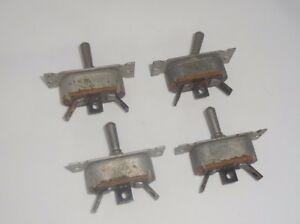 Cutler Hammer B 7a Aircraft Toggle Switch 1605910 Lot Of 4