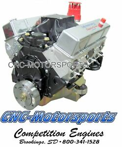 Sb Chevy 427 620 Horsepower Street Strip Crate Engine Afr Heads Roller Cam