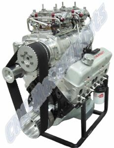 Sb Chevy 383 Stroker Street Strip 6 71 Blower Engine 650 Horsepower Pump Gas