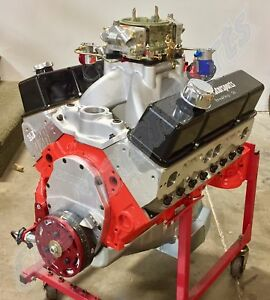 Sb Chevy 415 Nitrous Race Engine Afr Heads Dart Block Callies Compstar Crank