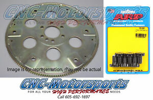 Bb Chevy 454 496 Sfi Rated Flexplate 168 Tooth Ext Balance W Arp Bolts