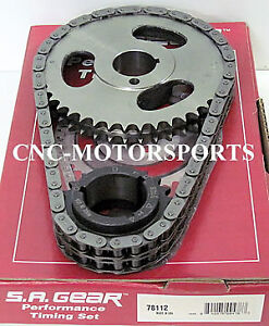 Engine Timing Set S a Gear 78112r Pontiac 326 389 400 428 455 Double Roller