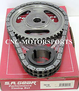 Engine Timing Set S a Gear 78113r Oldsmobile 350r 400 455 Double Roller 3 Keywa