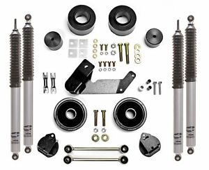 Rubicon Express 2 5 Lift Kit Mono Tube Shocks 07 18 Jeep Wrangler Jk Re7133m