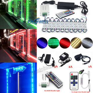 5050 SMD 3 LED Module Lights Store Front Window Sign DIY Lamp Kit (RemotePower)