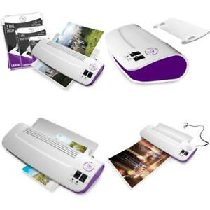 Purple Cows Hot cold 9 Laminator Warms Up In Just 3 5 Min With 50 Pockets new