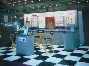 Used Trade Show Display Excellent 15 X 20 Trade Show Booth And Flooring