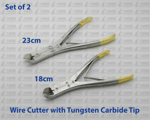 Tc Hard Wire Cutter Double Action Orthodontic Plier Dental Care Instruments