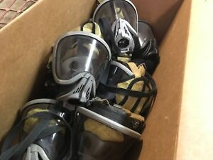 Msa Ultra Elite Facepiece Firefighter Respirator Scba Mask Sz Small