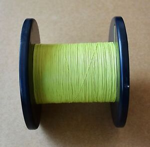 T0 28y 1000m Yellow 0 28mm Solder Micro Litz Teflon Stranded Wire Electronic New