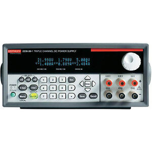 Keithley 2230 30 1 Triple output Programmable Dc Power Supply W usb