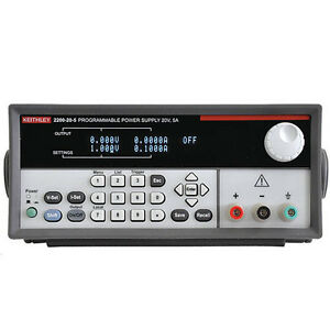 Keithley 2200 20 5 Single output Programmable Dc Power Supply 20v 5a
