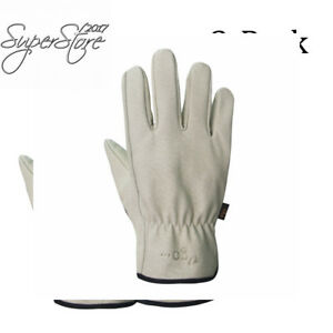 Vgo Glove Men s Pigskin Leather Work Gloves Drivers Premium Washable
