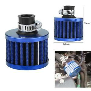 12mm Car Motor Washable Cold Air Intake Filter Turbo Vent Crankcase Breather