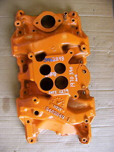 1970 Dodge Challenger Plymouth Cuda 340 Intake Manifold Oem 3462848 Dart Duster
