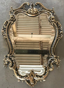 Wall Brass Mirror Frame French Style Louis Xv Hand Made