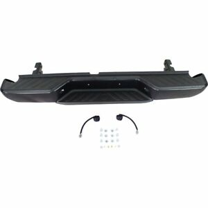 Step Bumper Assembly For 2005 18 Nissan Frontier All Cab Type Pwd ctd Black