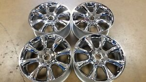New Chrome 22 Escalade Yukon Tahoe Suburban Oem Factory Gm Wheel 5410 Ck916