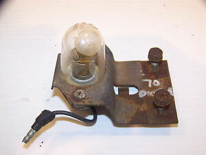 1970 Plymouth Duster License Plate Light Oem Valiant 71
