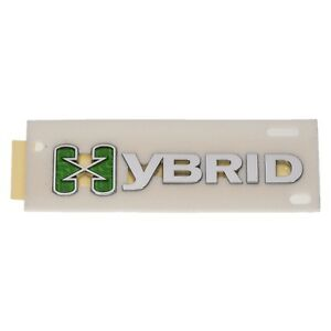 Oem New Hybrid Emblem Nameplate Chrome W Green 07 11 Chevrolet Saturn 25798870