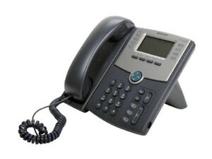 Cisco Spa508g 8 Line Ip Telephone Poe Only Refrb Wrnty